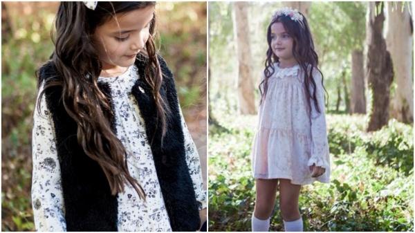 Vestidos Floreados Para Niñas Otoño Invierno 2018 Minilook