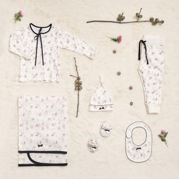 ajuar para beba Little Akiabara invierno 2018