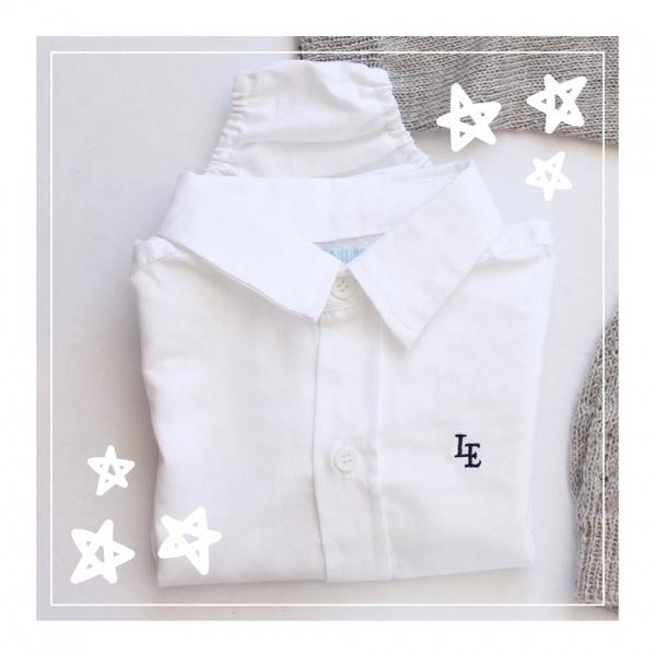 body camisa bebe lelefantino otoño invierno 2018