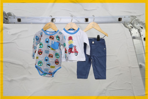 bodys y remeras mangas largas para bebes Soft red otoño invierno 2018