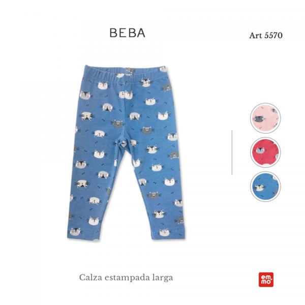 calzas de algodon para beba Emmo otoño invierno 2018
