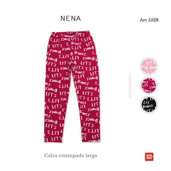 calzas estampadas nena Emmo otoño invierno 2018