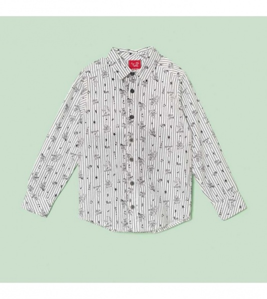 camisa para niños grisino otoño invierno 2018