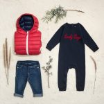 campera inflada bebes Little Akiabara invierno 2018