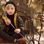 campera inflada camuflada Paula Cahen d Anvers NIños invierno 2018