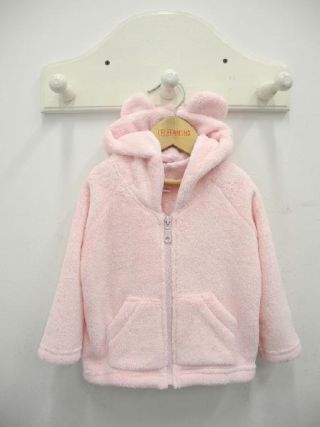 campera polar rosa beba lelefantino otoño inivierno 2018