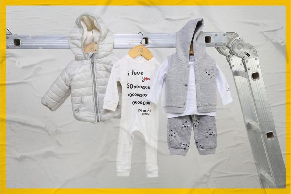 camperas infladas para bebes Soft red otoño invierno 2018