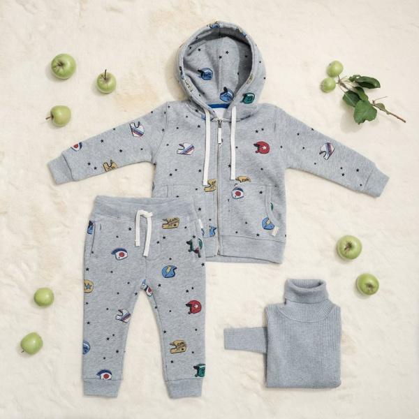 conjuntos para bebes Little Akiabara invierno 2018