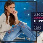 jeans bordado y blusa mangas largas para niñas ce pe otoño invierno 2018