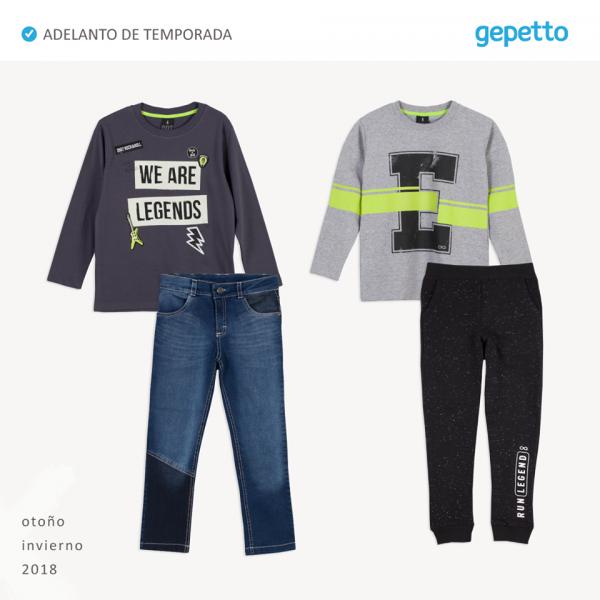 jeans buzos y pantalon joggin niños gepetto invierno 2018