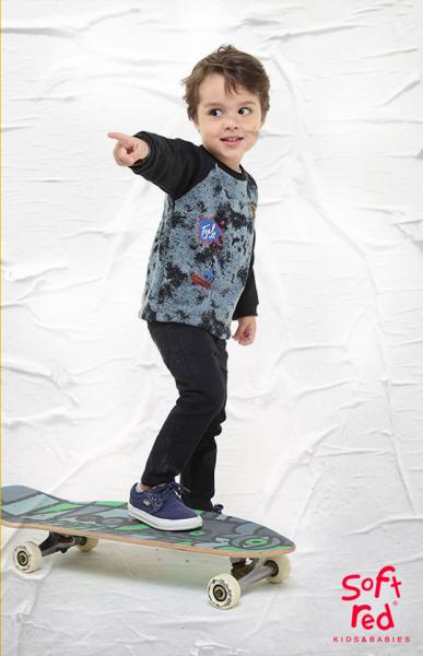 jeans para niños Soft red otoño invierno 2018