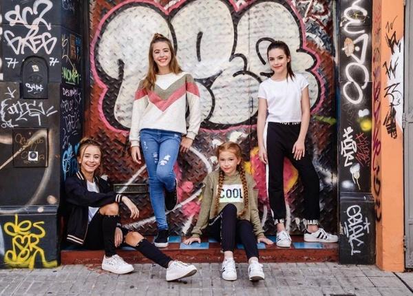 look modernos para niñas so cippo otoño invierno 2018