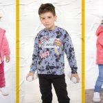 moda para niños Soft red otoño invierno 2018