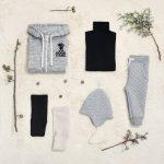 pantalon matelase y polera bebe Little Akiabara invierno 2018