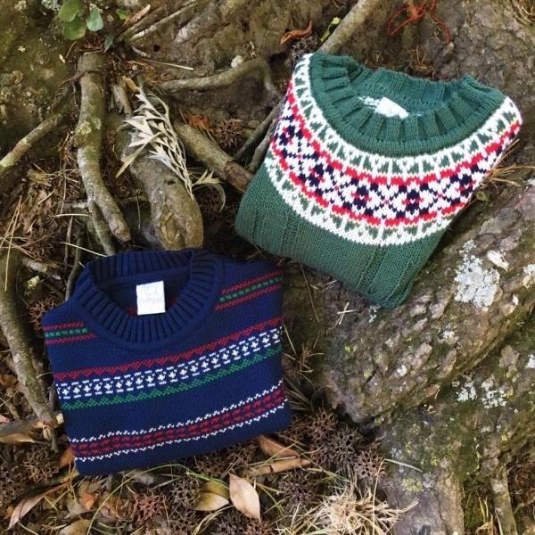 buzos de lana con guarda para niños Pompas invierno 2018