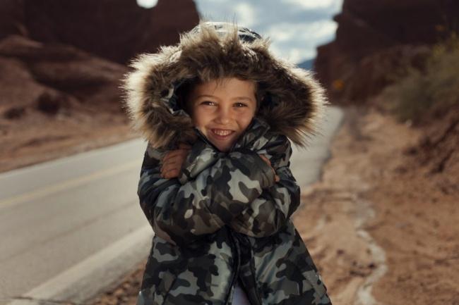 camperon camuflado para chicos Gimos invierno 2018