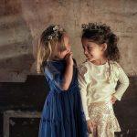 minifalda de terciopelo para nena Gro otoño invierno 2018