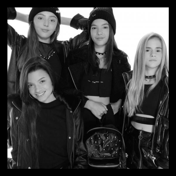 minifalda y tops para adolescentes ona Saez Kids otoño invierno 2018