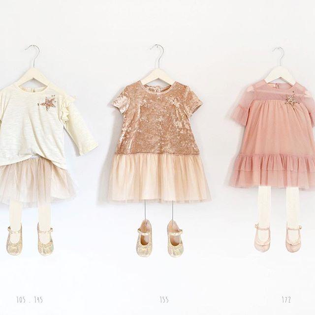 moda infantil para fiestas Gro otoño invierno 2018
