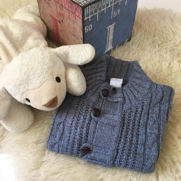 saco de lana para niños Pompas invierno 2018