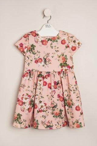 vestido estampado para nena Magdalena Esposito invierno 2018
