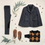 blazer para chicos little akiabara invierno 2018