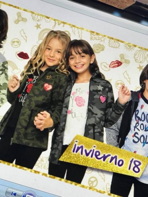 camperas camufladas niñas urbanito invierno 2018