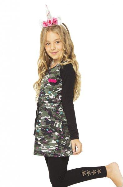 remera larga camuflada nena para usar con calza urbanito invierno 2018