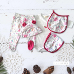 ajuares para bebes de algodon fizilina otoño invierno 2018