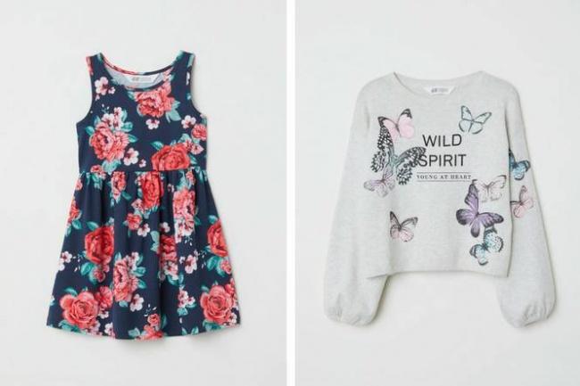 estampas floreadas tendencias moda niñas verano 2019