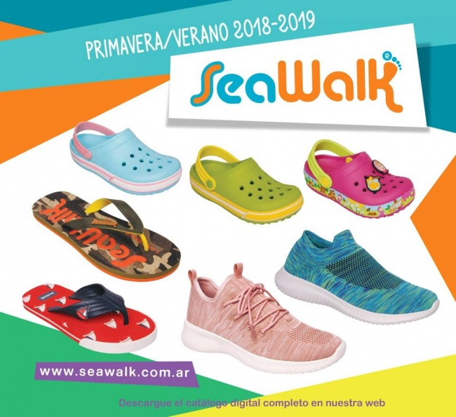 ojotas para niños seawalk primavera verano 2019