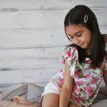 remera algodon floreado nena cx croxi primavera verano 2019