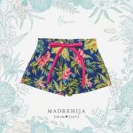short de baño estampa tropical Madrehijas swim suits verano 2019