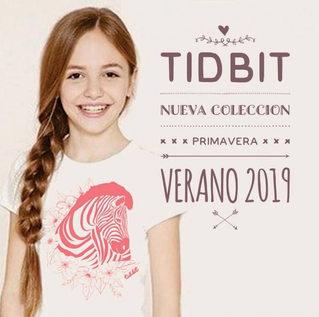 tidbit argentina verano 2019 remeras para niñas