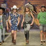vestidos jeans bermudas remeras look casual niños verano 2019