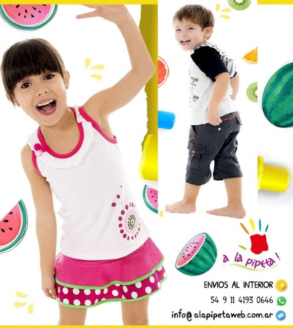 fa04c82ce Adelantos de moda infantil Argentina primavera verano 2019 | Minilook
