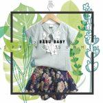 blusa estilo bohemia para beba babu moda infantil primavera verano 2019