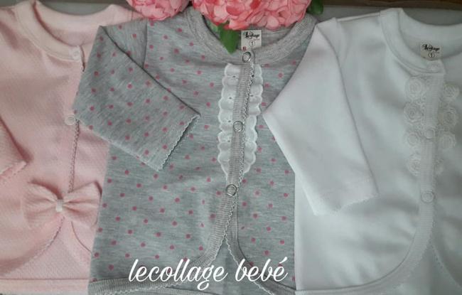camperitas de algodon con puntilla para beba lecollage verano 2019