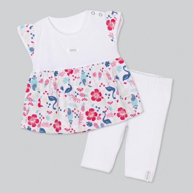 conjuntos camisola y calza beba beba baby cheito verano 2019