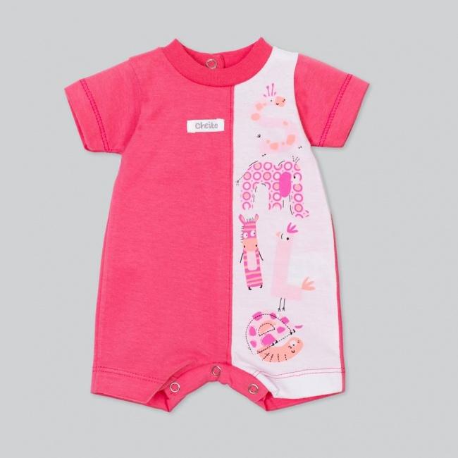 enterito corto mangas cortas beba beba baby cheito verano 2019