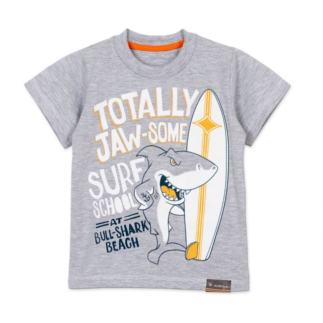 remera mangas cortas tiburon niño te averiguo primavera verano 2019
