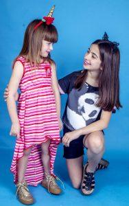 vestido a rayas para nenas Cante Pido verano 2019