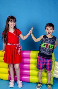 vestido rojo para nena Cante Pido verano 2019