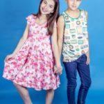 vestidos floreado para el dia jeans y musculosas para chicos Cante Pido verano 2019