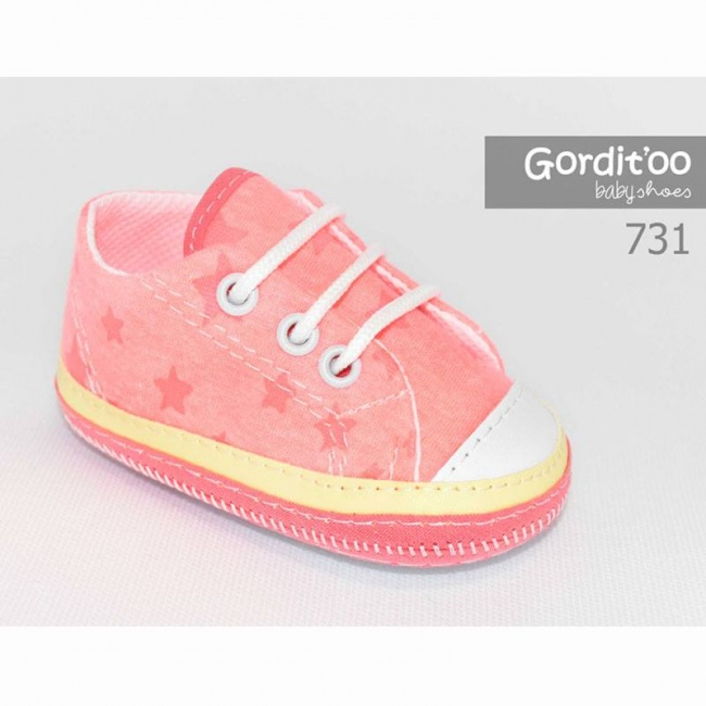 zapatilla rosa para beba gorditoo primavera verano 2019