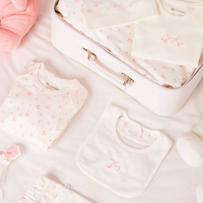 ajuar beba linea pajaritos cheeky primavera verano 2019