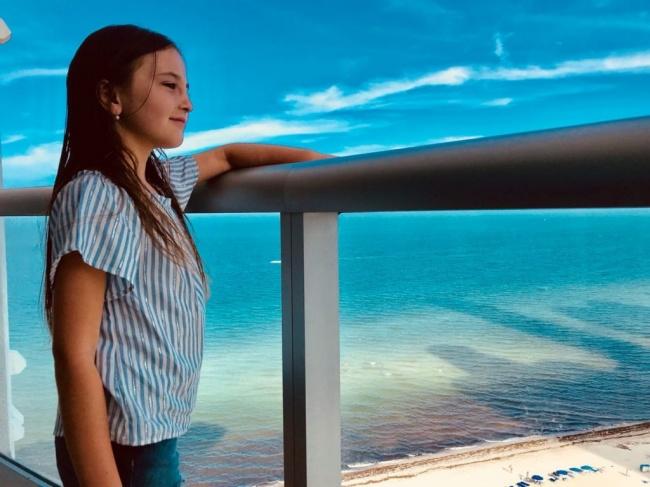 blusa a rayas para niñas Gimos by Rockeritos verno 2019