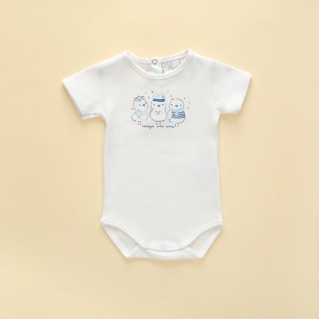 bobys para bebes mangas cortas Broer Enfants verano 2019