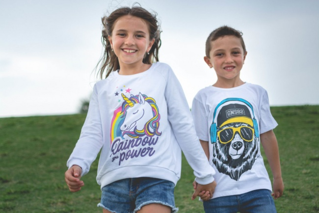 buzos de algodon rustico unicornio niña Gimos by Rockeritos verno 2019