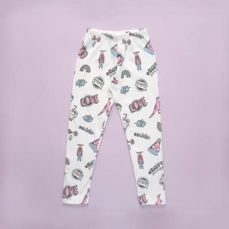 calzas estampadas para nenas Grisino primavera verano 2019